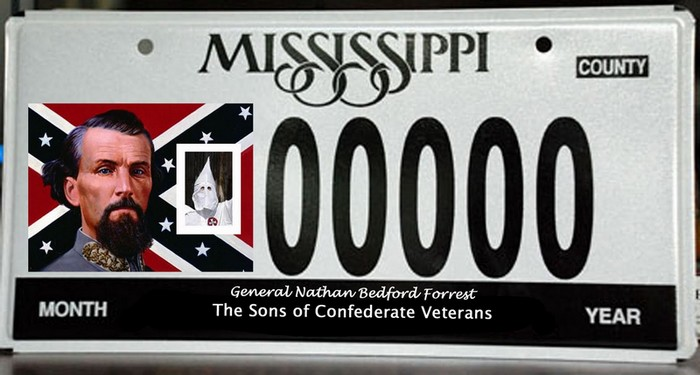Name:  The Sons of Confederate Veterans License Plate.jpg