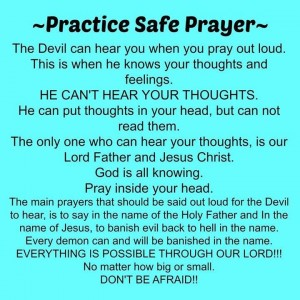 safe prayer