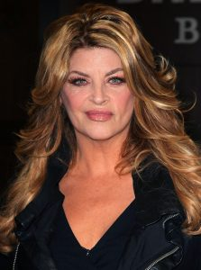 kirstie alley looks like shoe leather