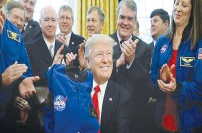 Donald Trump's Scientific Breakthrough: The Moon Is Part of Mars